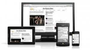 Boston Globe responsive web design