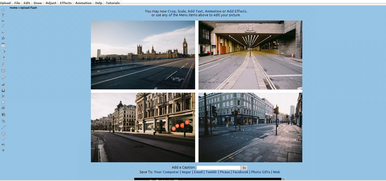 LunaPic - web browser based image editing tools - IT Chimes