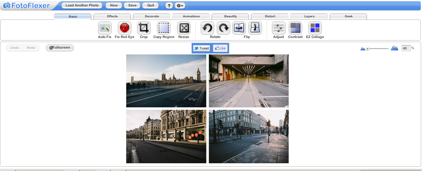 FotoFlexer web browser based image editing tools - IT Chimes