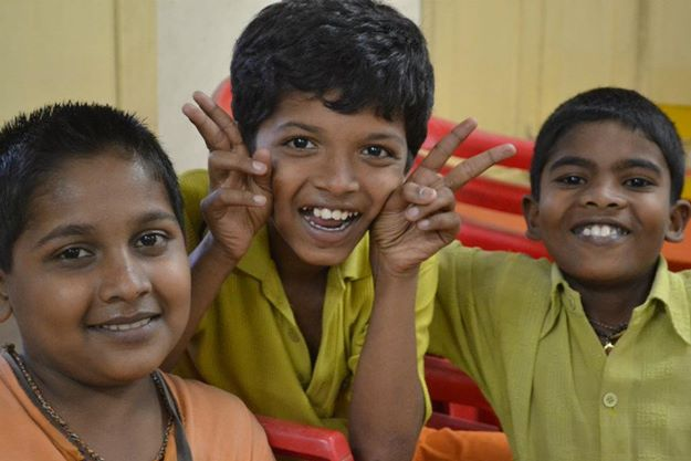 Saffron Tech brings smile to the Pankhudi Foundation kids
