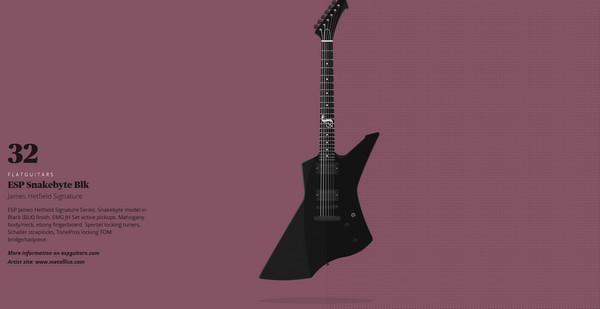 2. Flat-Guitars