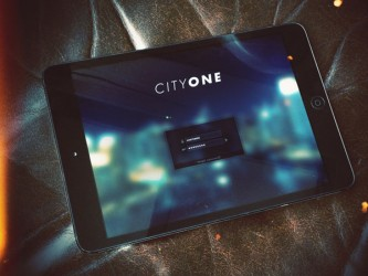 Cityone Tablet screen graphics