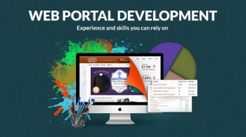 web portal development image