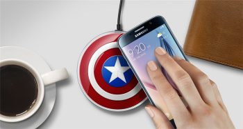 New-America-Captain-QI-Wireless-Charger-Charging-font-b-Applicable-b-font-font-b-Android-b