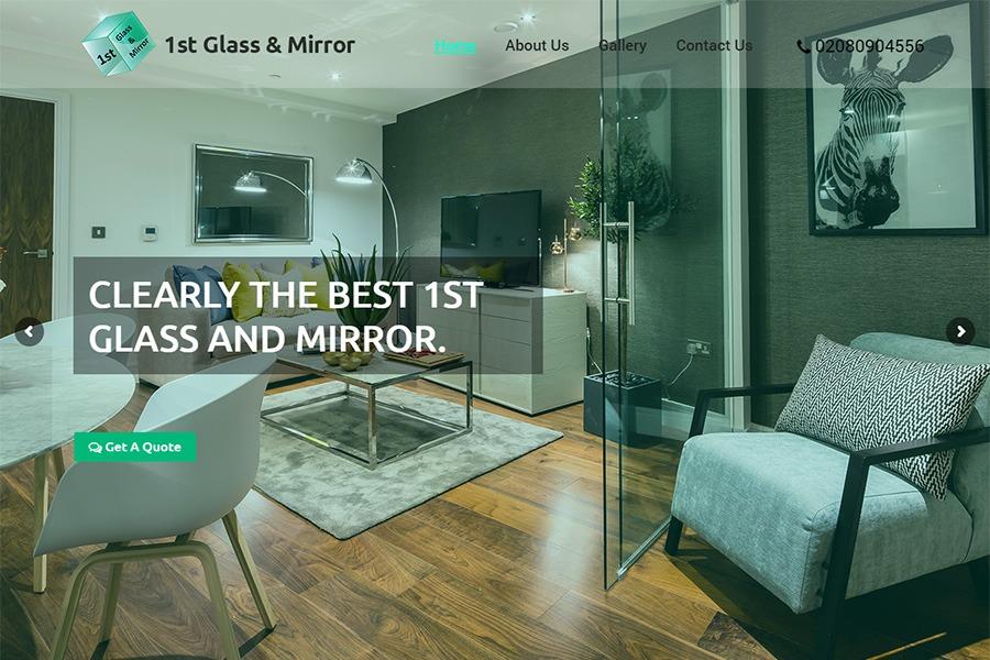 1st Glass Mirror